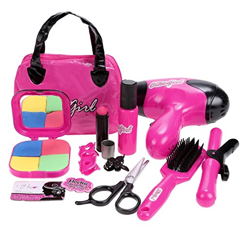 Cute Girls Hair Stylist Beauty Salon Fashion Pretend Play Set (Play Blow Dryer compare prices)