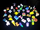 10 Assorted Japanese Erasers Random Pull Surprise Assortment