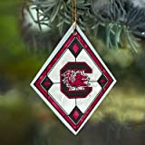 South Carolina Stained Glass Ornament