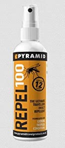 Pyramid Insect Repellent - 100% Deet 120ml One Size
