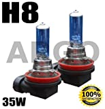 H8 35W 12V XENON WHITE HID FRONT FOG LIGHT BULBS BMW MINI COOPER S CONVERTIBLE