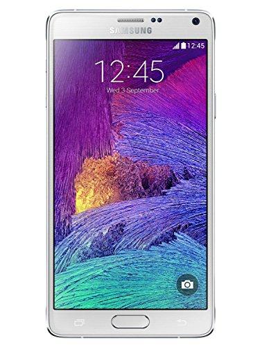 Samsung SM-N910F Galaxy Note 4 Smartphone, 32 GB, Bianco [Italia]