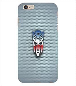 PrintDhaba Mask D-1818 Back Case Cover for APPLE IPHONE 6 (Multi-Coloured)