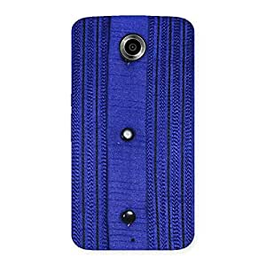 Style Royal Blue Back Case Cover for Nexsus 6