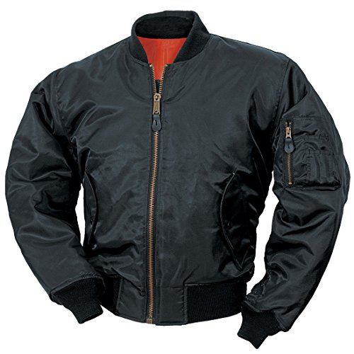 classic-ma-1-flight-jacket-us-pilot-bomber-mens-airforce-biker-security-black-xlarge