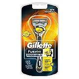 Gillette Fusion Proshield Men's Razor with Flexball Handle and Razor Blade Refill (1 Handle + 1 Blade)