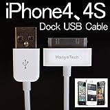 iPod/iPhone3G 3GS/iphone4/iphone4S/Dockコネクタ搭載iPod nano/touch/classic、iPad 用データ転送・充電 USBケーブル