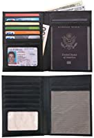Travelambo RFID Blocking Leather Passport Holder & Travel Wallet in 7 Colors