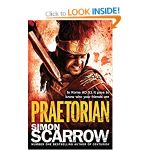Praetorian (Roman Legion 11) Simon Scarrow