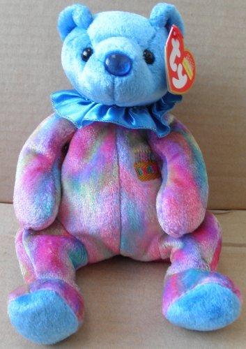 TY Beanie Babies Sapphire September Birthday Bear Plush Toy Stuffed Animal - 1