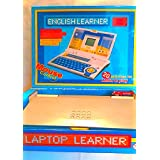Laptop Learner For Child - Educational Toy - English Learner - 20 Activities For Learn And Play - Mo