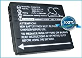 Battery for Panasonic Lumix DMC-FS62, 3.7V, 940mAh, Li-ion