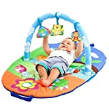New Baby Developmental Activity Playmat Gym Playground Portable Travel Play Mat for Boy or Girl