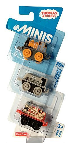 Thomas and Friends Minis Pack of 3 (Dash, Scruff, James)