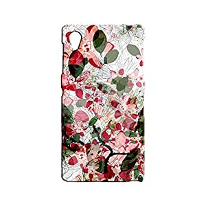 BLUEDIO Designer 3D Printed Back case cover for Sony Xperia Z1 - G4354