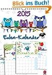 Eulen-Kalender Planer (Wandkalender 2...