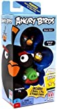 Angry Birds Black Bird, Moustache Pig, Orange Bird Add-On, 3-Pack