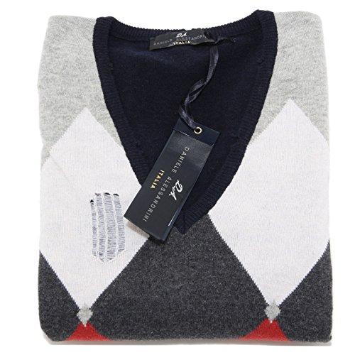 9973M maglione uomo DANIELE ALESSANDRINI lana sweater men [46]