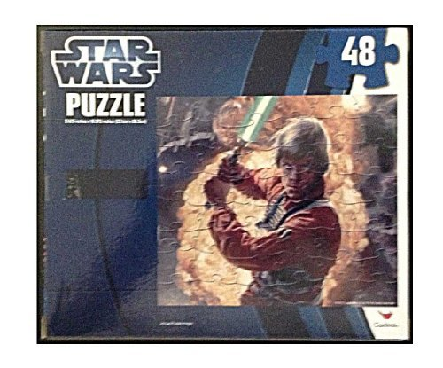 "Star Wars Assorted Jig Saw Puzzle 10"" x 9"" 48 Piece - 1"