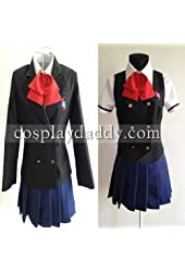 Another Misaki Mei Cosplay Costume with Vest&eyeshade Cosplay