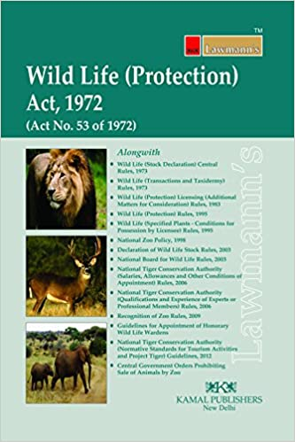 wild life protection act of india Free essay: indian wild life protection act by capt tanmoy roy 127 etf introduction 1 wildlife includes all non-domesticated plants, animals it extends to the whole of india, except the state of jammu and kashmir which has its own wildlife act.