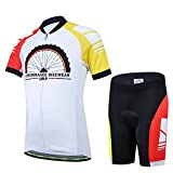 Free Fisher Kinder Radtrikot-Set