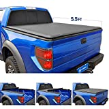Tyger Auto TG-BC1F9029 Roll up Truck Bed Tonneau Cover Works with 2015-2018 Ford F-150 | Styleside 5.5' Bed