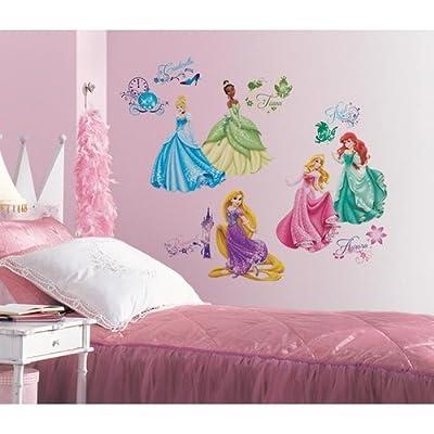 York Wallcoverings RMK2199SCS RoomMates Disney Princess - Royal Debut Peel & Sti,