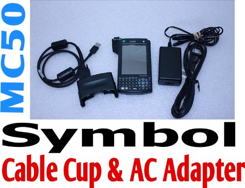 Symbol Mc50 Pocket Pc Mobile With Cable Cup Wireless Barcode Scanner Handheld