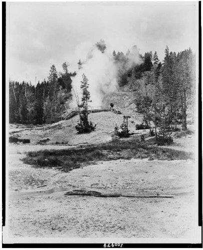 Photo: Mud Volcano,Yellowstone Park,Northern Pacific Railway,Gardiner Gateway,C1912