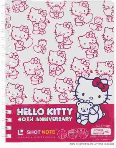 King Jim shot notes ショットノ - g Haro - Kitty type twin ring M size white 9131 KT Ciro
