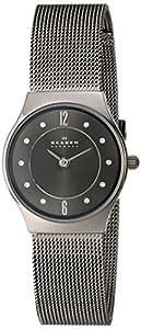 Skagen Women's 233XSTTM Grenen Quartz 2 Hand Titanium Gray Watch