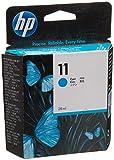 HP 11 Cartouche d'encre d'Origine 1 x Cyan 2350 pages...