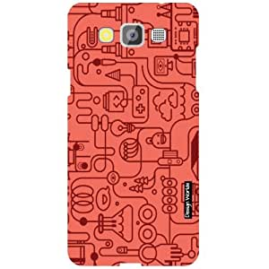 Design Worlds Samsung Galaxy Grand Max SM-G7200 Back Cover - Pattern Designer Case and Covers