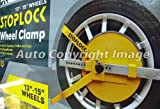 Car Caravan Trailer High Security Stop Lock StopLock Wheel Clamp