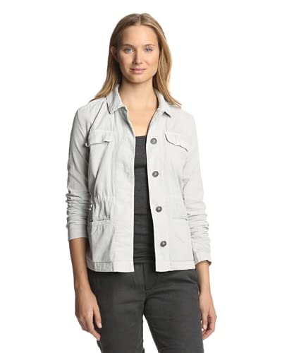 James Perse Women's Cord Utility Shirt Jacket