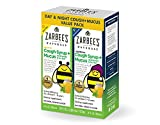 Zarbee's Naturals Children's Cough Syrup + Mucus with Dark Honey & Ivy Leaf Daytime & Nighttime, Natural Grape Flavor, 4 Ounce Bottles (Value Twin Pack)