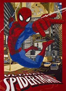 Associated Weavers 23 Ultimate - Alfombra (95 x 133 cm), diseño de Spiderman