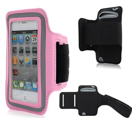 Moon Monkey Easefit Sweat-Proof Neoprene Sports Armband For Iphone 5, 5S, 5C And Ipod Touch 5Th Generation (Pink)
