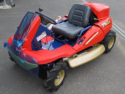 筑水キャニコム CM226RC 乗用草刈機 乗用モア 乗用式草刈機 モアー F1まさお 【22馬力】 【2WD】