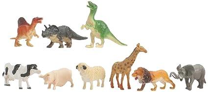Pot animaux Jungle Ferme -Dinosaure