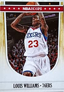2011-12 Panini Hoops #189 Louis Williams Trading Card in a Protective Case by Hoops