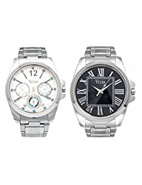 Veens Multicolor Dial Coimbo Pack Of 2 Boys/Gents/Mens Wrist Watch DW1093 Zu