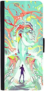 Snoogg Find Yourself Designer Protective Flip Case Cover For Samsung Galaxy A3