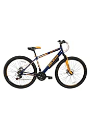 Boss Men's Colt Mountain Bike - Blue/Orange, 12 Years