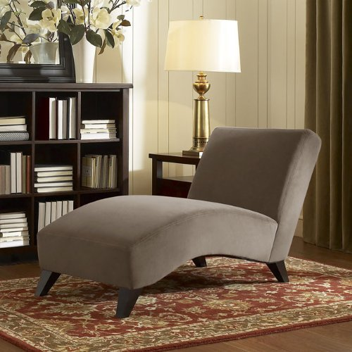 Contemporary Taupe Chaise. This Modern Chaise Lounge Chair Is The Perfect Piece Of Furniture To Complement Any Home Decor. Whether It Be For Living Room, Dining Room, Bedroom Or Office This Comfortable Chaise Lounge Sofa Is Sure To Please. front-960842