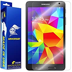 ArmorSuit MilitaryShield - Samsung Galaxy Tab 4 8.0 Screen Protector Anti-Bubble Ultra HD - Extreme Clarity & Touch Responsive with Lifetime Replacements Warranty
