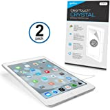 BoxWave ClearTouch Crystal (2-Pack) iPad mini (2012) Screen Protector - Premium Quality, Ultra Crystal Clear Film Skin to Shield Against Scratches (Includes Lint Free Cleaning Cloth & Applicator Card) - iPad mini Screen Guards and Covers
