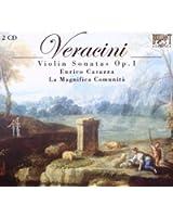 ヴェラチーニ:ヴァイオリン独奏と通奏低音のためのソナタOp.1(全12曲)(2枚組)