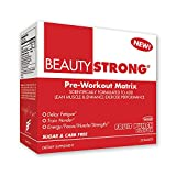 BeautyFit BeautyStrong, Pre-Workout Matrix For Women, Fruit Punch, Box (25 Packets/Servings)